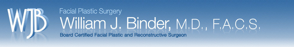 Dr Binder: Facial Plastic Surgeon Specializing in Rhinoplasty