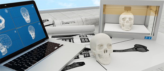 printed-skull